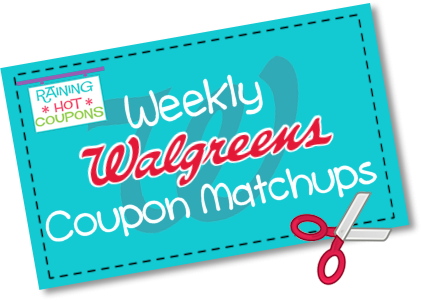 Weekly Walgreens Coupon Matchup