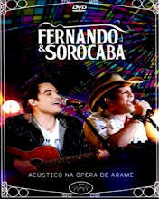 DVD - Fernando e Sorocaba Acústico na Opera de Arame