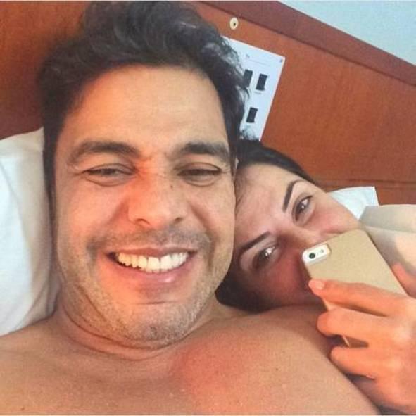 f00f22ed46 Zezé Di Camargo volta as redes e passa a usar o Instagram junto com a  namorada.