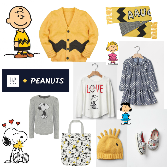 her name is ali: gap x peanuts