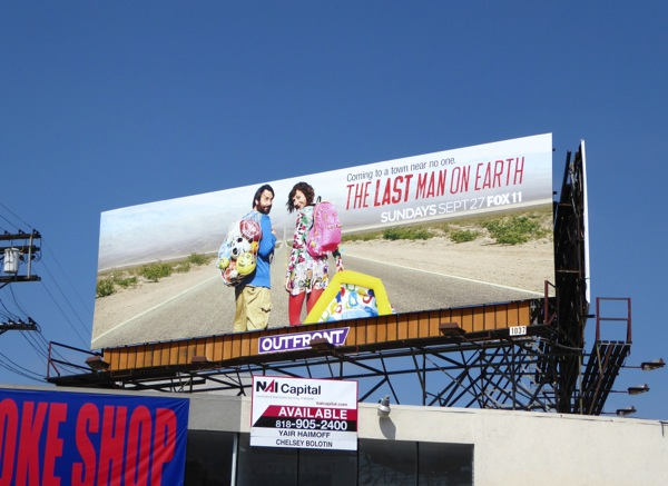 The Last Man on Earth season 2 billboard