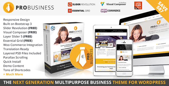 Download ThemeForest PRO Business v1.9.1 – Responsive Multi-Purpose Theme for free.