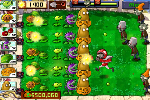 free  zombies vs plants game full version