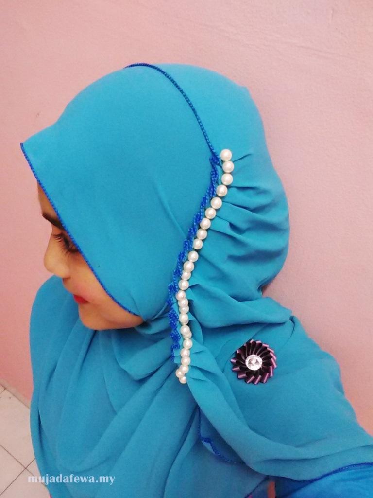 irrara label, mutiara shawl, tudung mutiara, pearl tudung, pearl shawl, tudung panjang, shawl