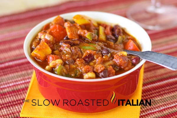 The Best Ever Power Packed Vegetarian Chili in Just 30 Minutes