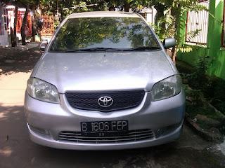 Pengecekan Mobil Toyota Vios B 1606  FEP Palu