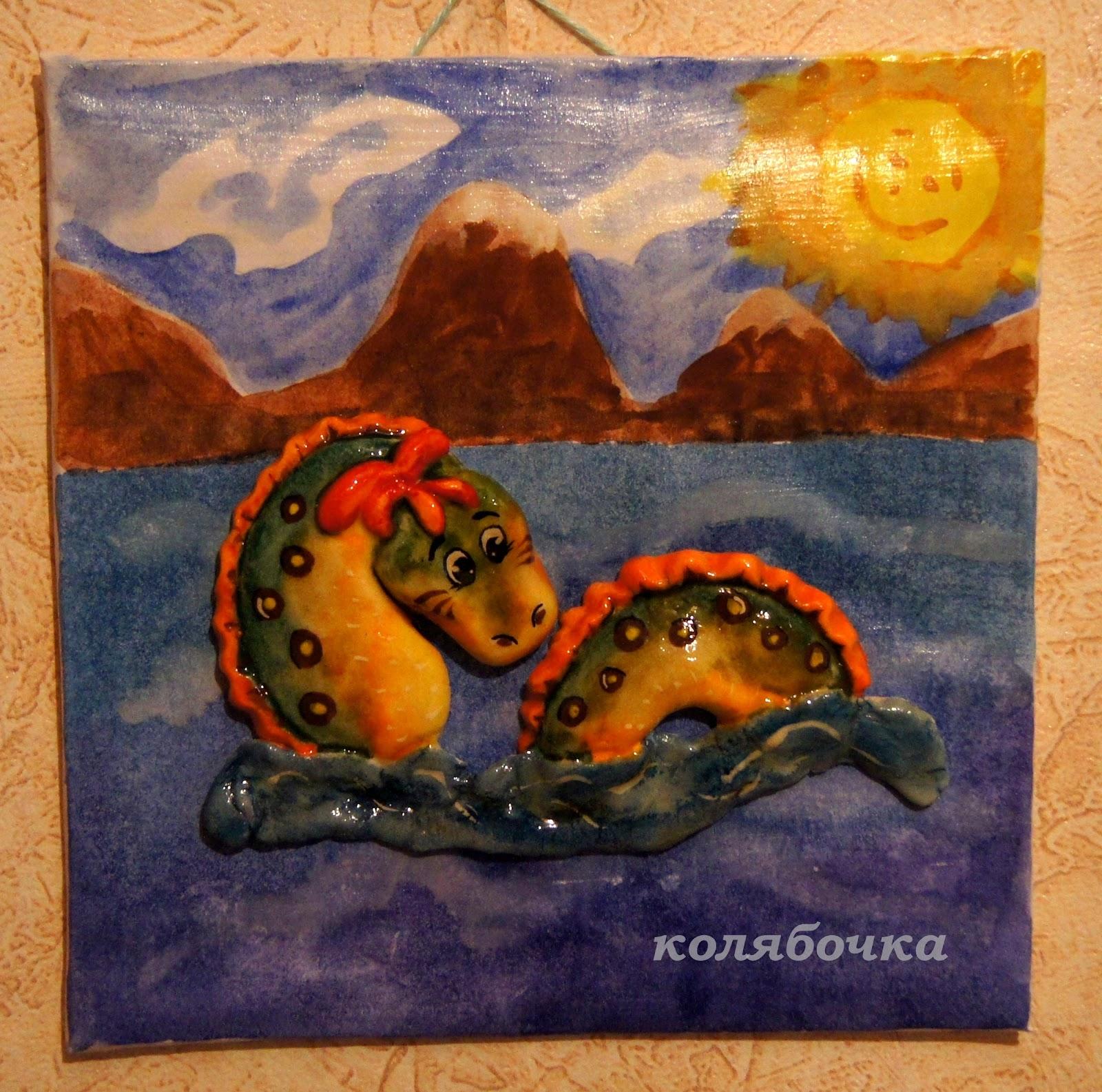 Соленое тесто поделки змей