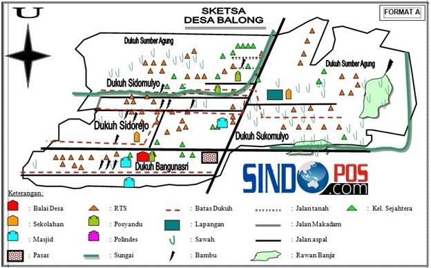 Profil Desa & Kelurahan, Desa Balong Kecamatan Balong Kabupaten Ponorogo