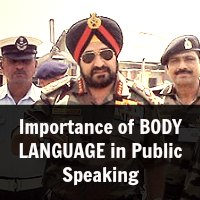 Importance of BODY LANGUAGE in Public Speaking