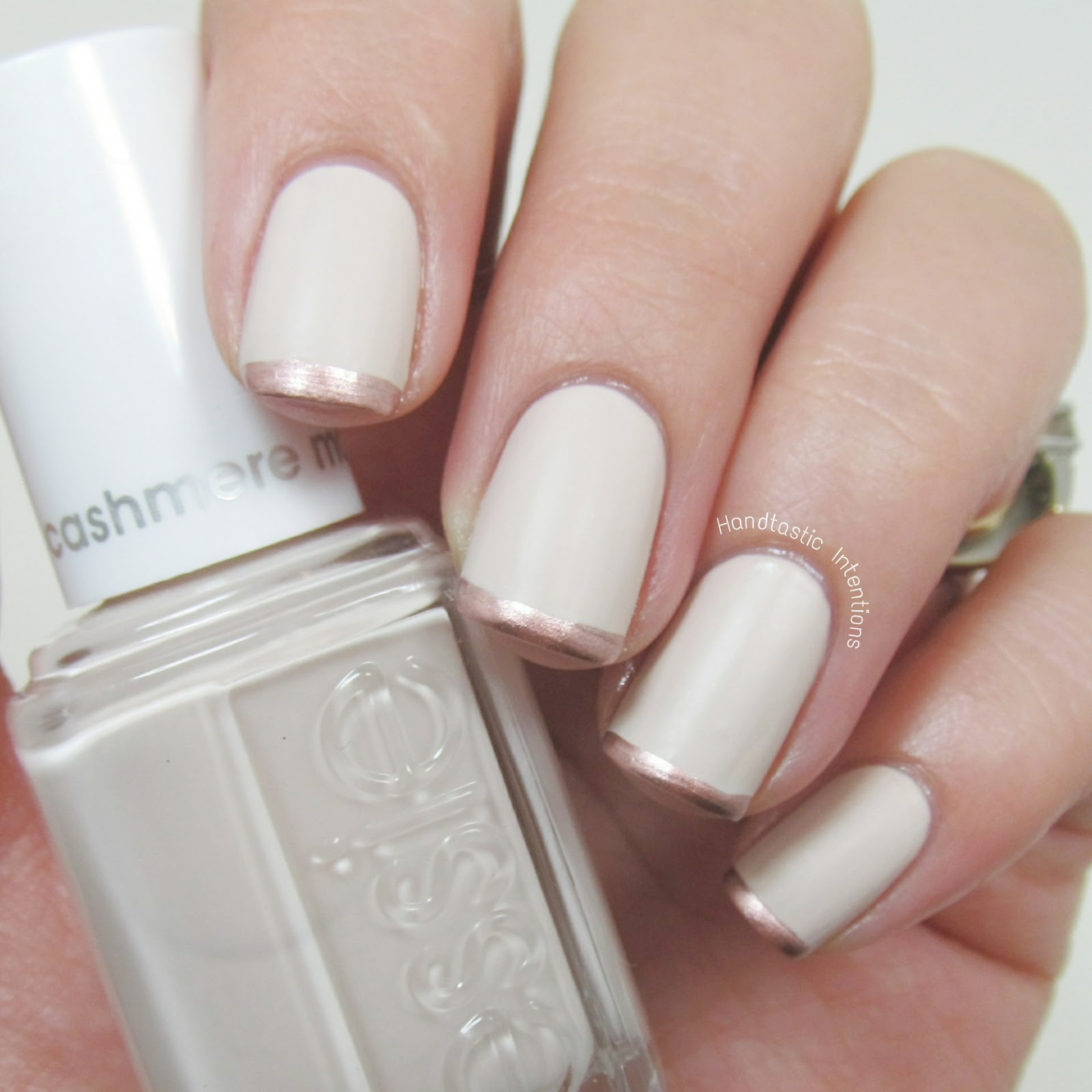 pictures How to Do Metallic French Tips