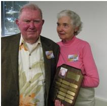 Volunteers of the Year 2011 ~ Louis and Pharaba Pankratz