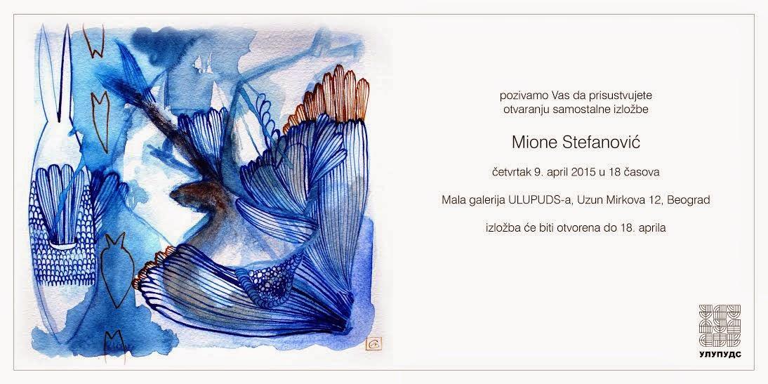 Otvaranje izložbe Mione Stefanović
