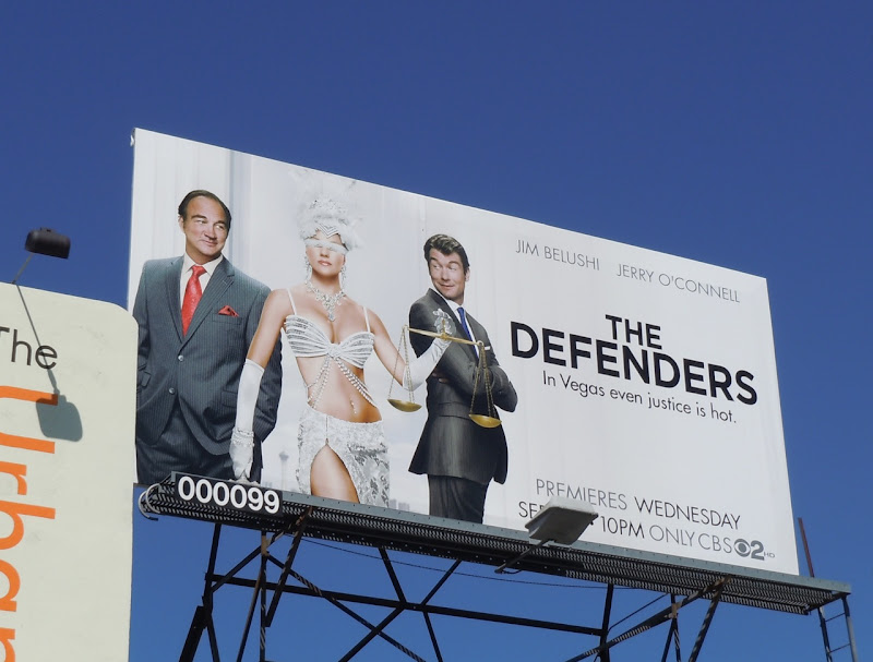The Defenders 2010 TV billboard