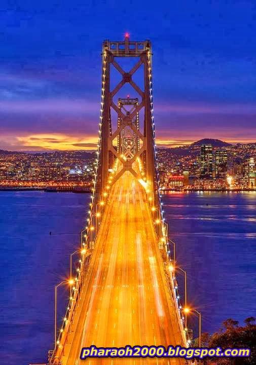 جسر باي سان فرانسيسكو كاليفورنيا