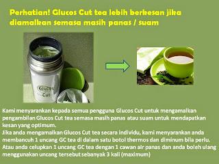 cara minum glucos cut