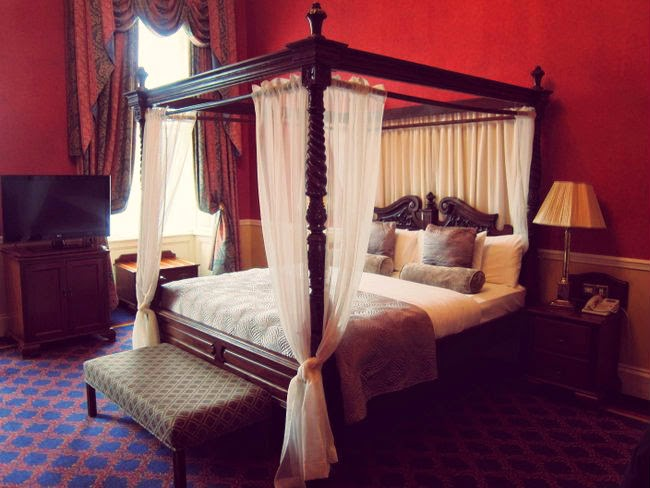 Four poster bed Faithlegg House Hotel