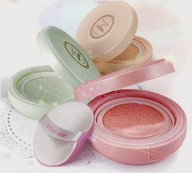 magic Any Cushion in Pink, Mint, Peach, Etude House Precious Mineral Magic Any Cushion, Etude House, Precious Mineral, Magic Any Cushion, makeup, sulli, k beauty, k makeup, korean makeup trend, pink, mint & peach cushion colours