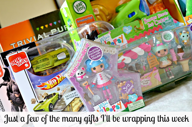 Mommy Testers gifts to wrap for the holidays