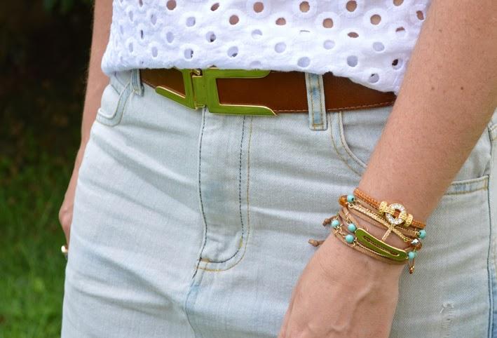 lesie, jeans, customização, dakota, jana acessórios, Look da Jana, look