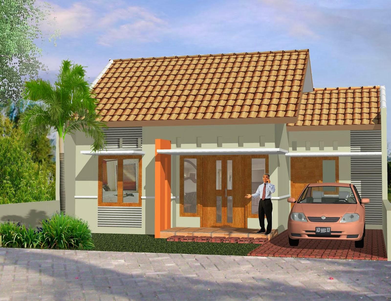 Contoh Desain Rumah Sederhana Yang Menarik Desain Denah Rumah