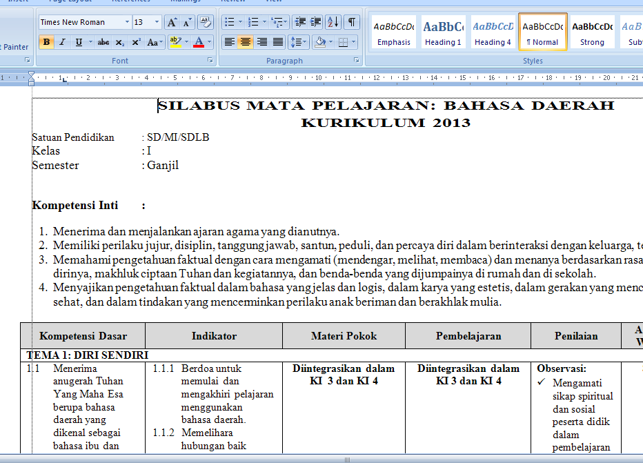 Promes Kelas 2 Kurikulum 2013 Download Pdf