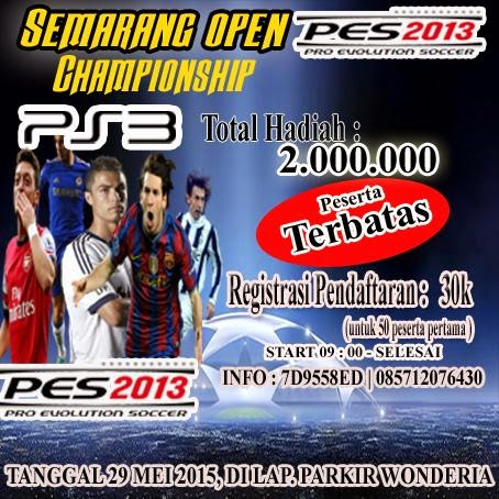 PES 2013 Tournament di Semarang Mei 2015