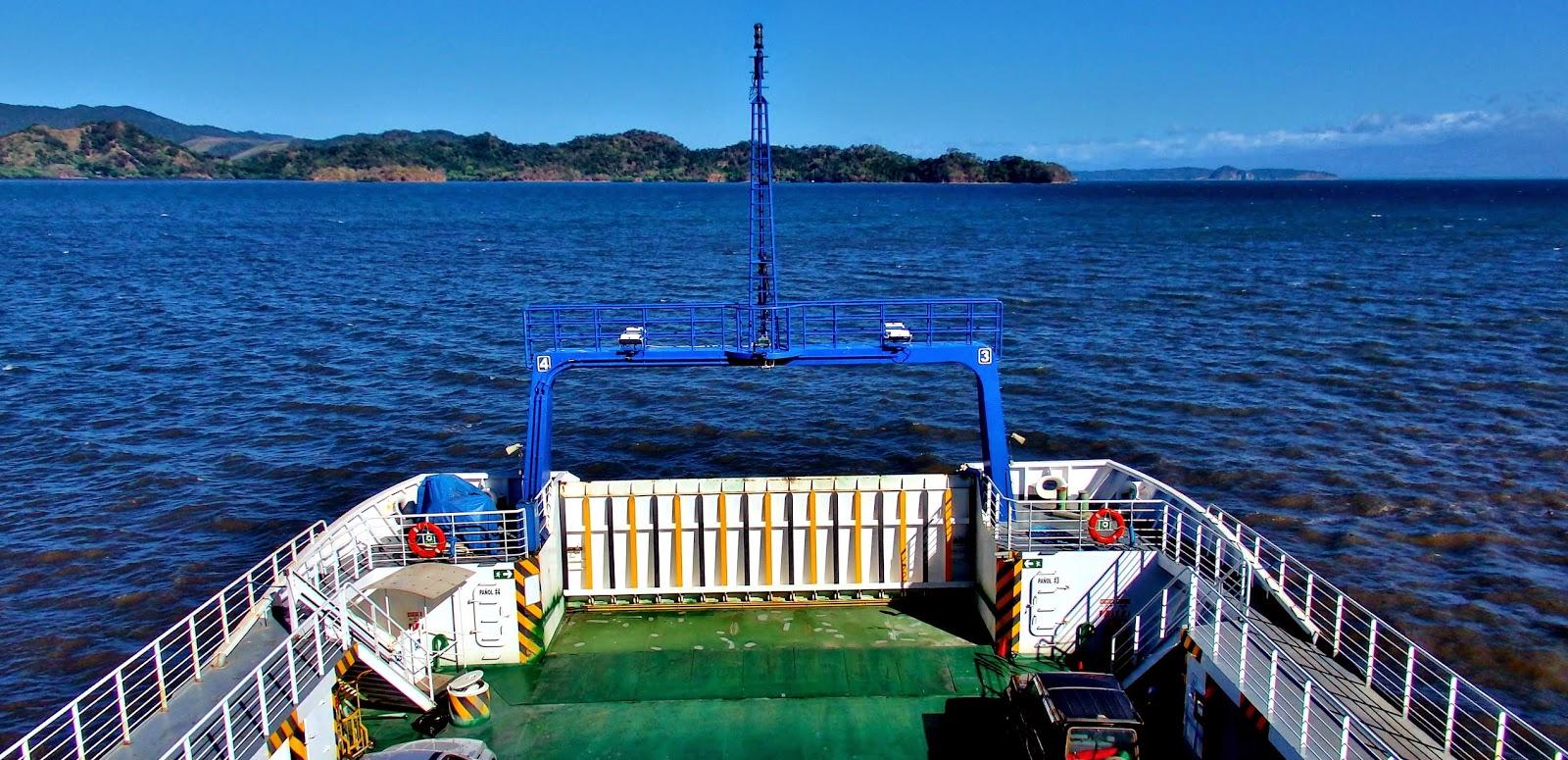 Ferry de Paquera a Puntarenas, Costa Rica.