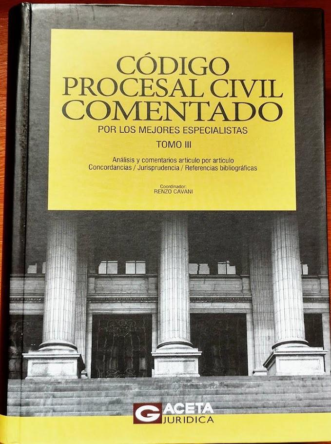Código Procesal Civil Comentado