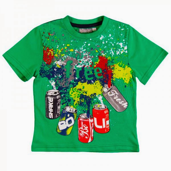 Boys Green T-shirt Bóboli