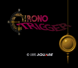 Chrono Trigger Super Nintendo Title Screen