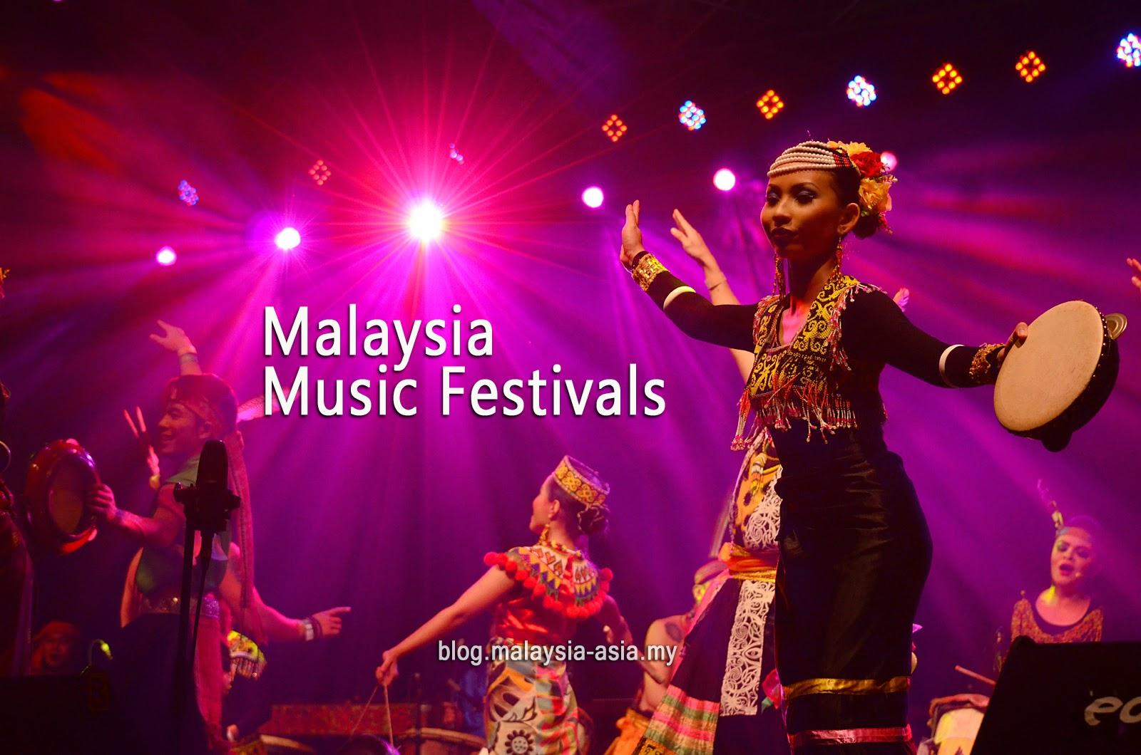 Malaysia Music Festivals 2015