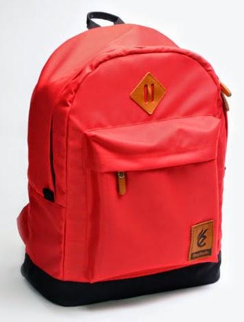 tas laptop merah