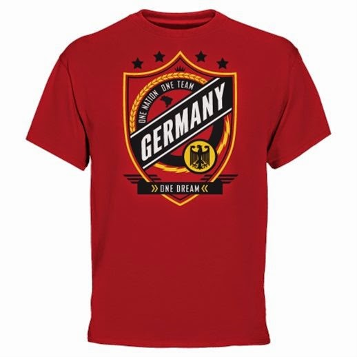 Germany 2014 World Cup Champions T-Shirt