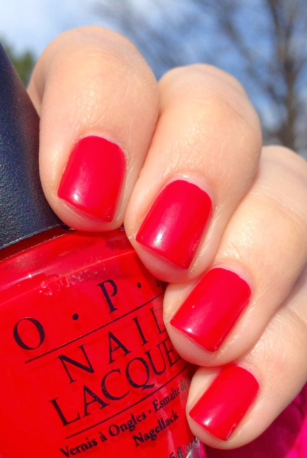 short n chic opi the thrill of brazil