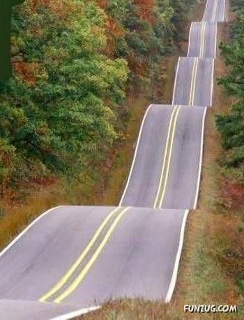 Pemandangan Jalan Paling Unik Di Dunia