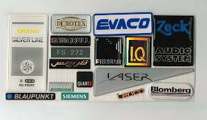 Voorbeelden Dome label