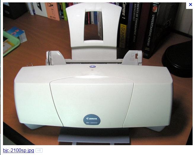 Скачать драйвера на принтер canon bjc 2100