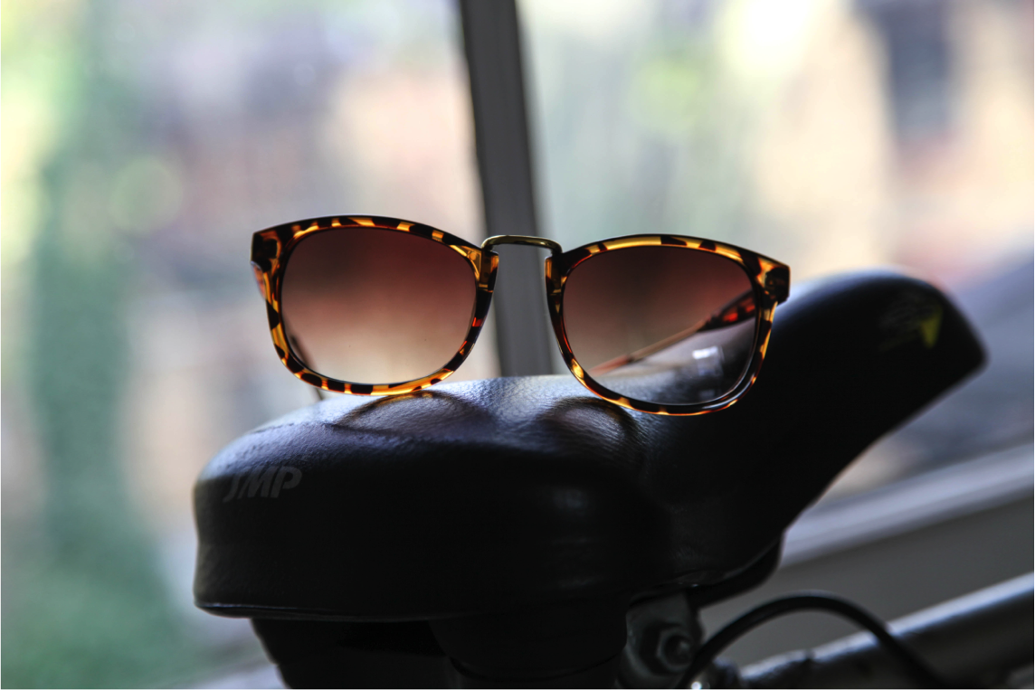 firmoo tailored sunglasses in tortoise frame and tea shades