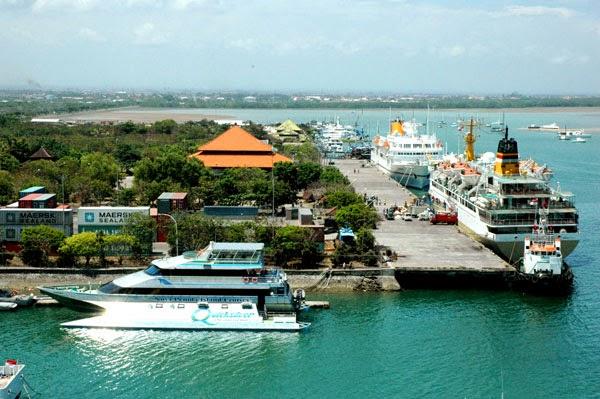 foto ke indahan pelabuhan tanjung benoa