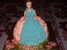 Barbie Doll Cake RM100.00