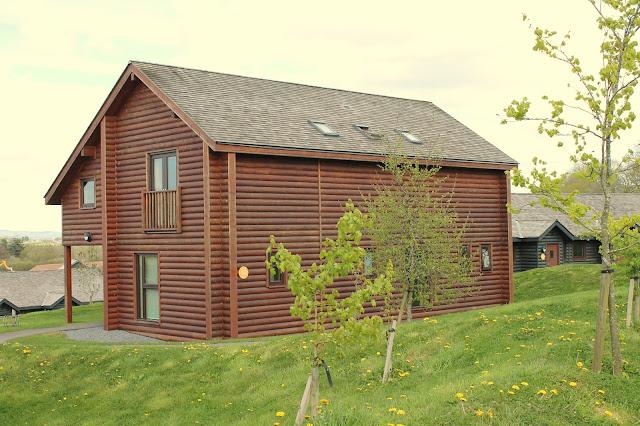Grassholm lodge at Bluestone Wales