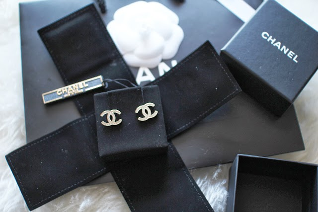 Chanel Double c Stud Earrings Double c Chanel Earrings