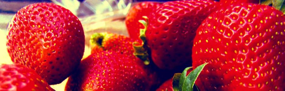 Comiendo Fresas