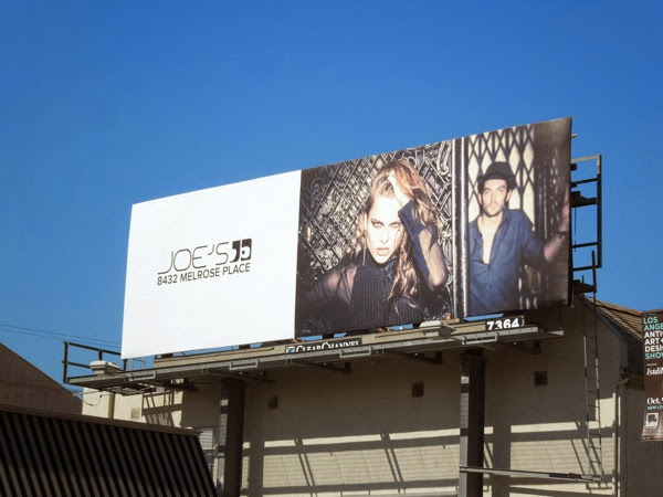 Joes Jeans Fall 2013 billboard