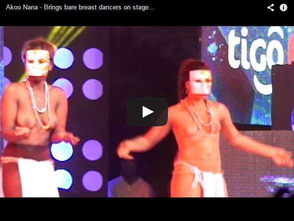 Watch Akoo Nana Nude Female Dancers On Stage
