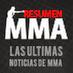 ResumenMMA @ResumenMMA FOLLOWS YOU Ya nos conoces. El sitio lider de las MMA en español.