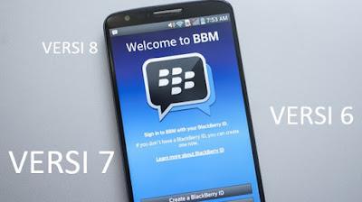 Download BBM versi 7