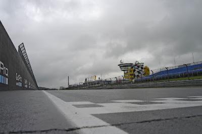 Sirkuit 'Air Terjun' MotoGP Jerman Diguyur Hujan
