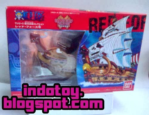 Jual Action Figure GrandShip Collection : Red Force Shank