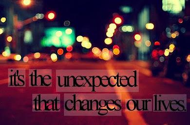 Unexpectedd.